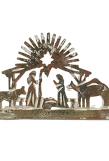 Ten Thousand Villages Standing Wooden Nativity Cutout