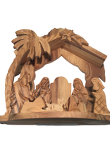 Ten Thousand Villages Medium Olivewood Nativity