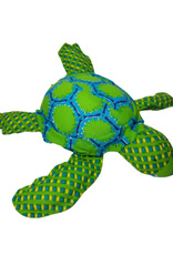 Ten Thousand Villages Cuddly Turtle - Blue