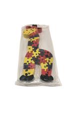 Palm Crafts Giraffe Alphabet/Number Puzzle