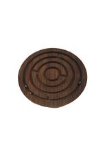 Ten Thousand Villages Round Wood Labyrinth Game