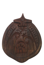 Ten Thousand Villages Wooden Nativity Puzzle Box