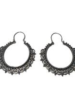 Ten Thousand Villages Filigree Hoop Earrings