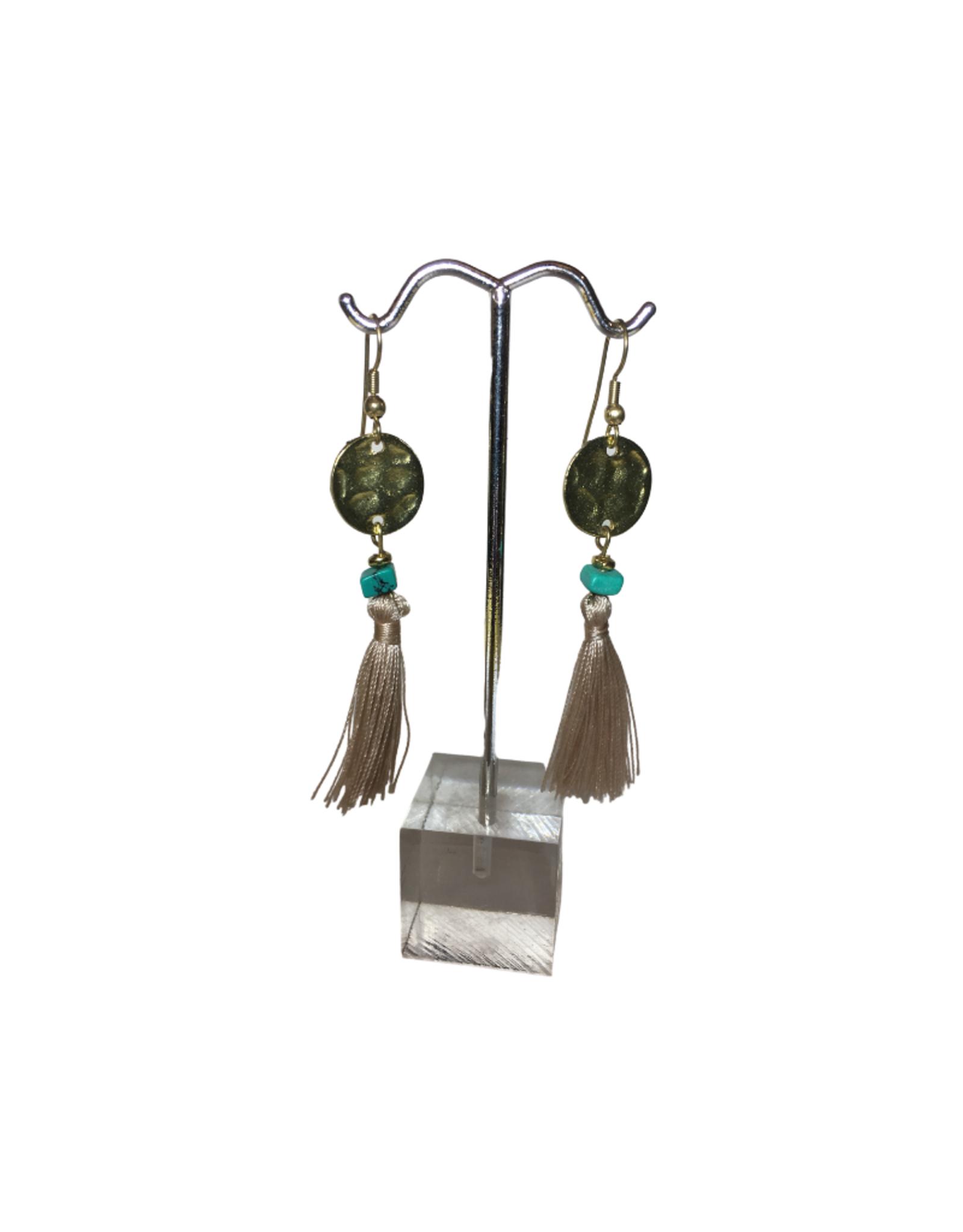 Ten Thousand Villages Tassel Earrings