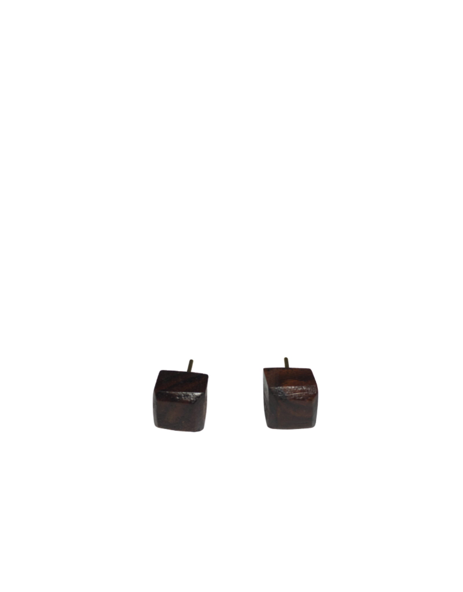 Ten Thousand Villages Rosewood Stud Earrings