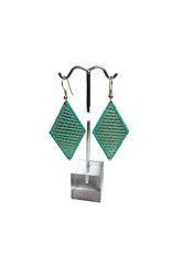 Ten Thousand Villages Wrap And Roll Diamond Earrings