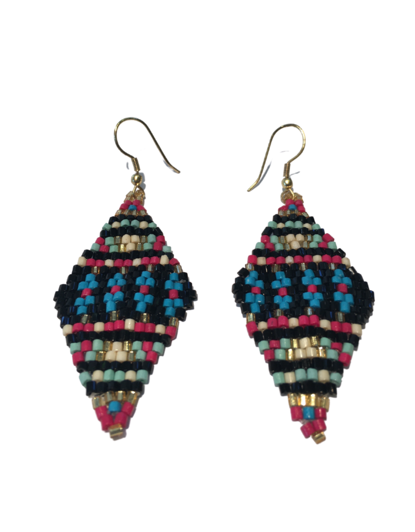 Ten Thousand Villages Gilded Age Beaded Earrings