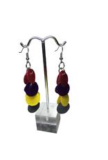 Ten Thousand Villages Capiz Cascade Earrings