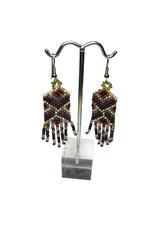 Ten Thousand Villages Tribal Pattern Earrings