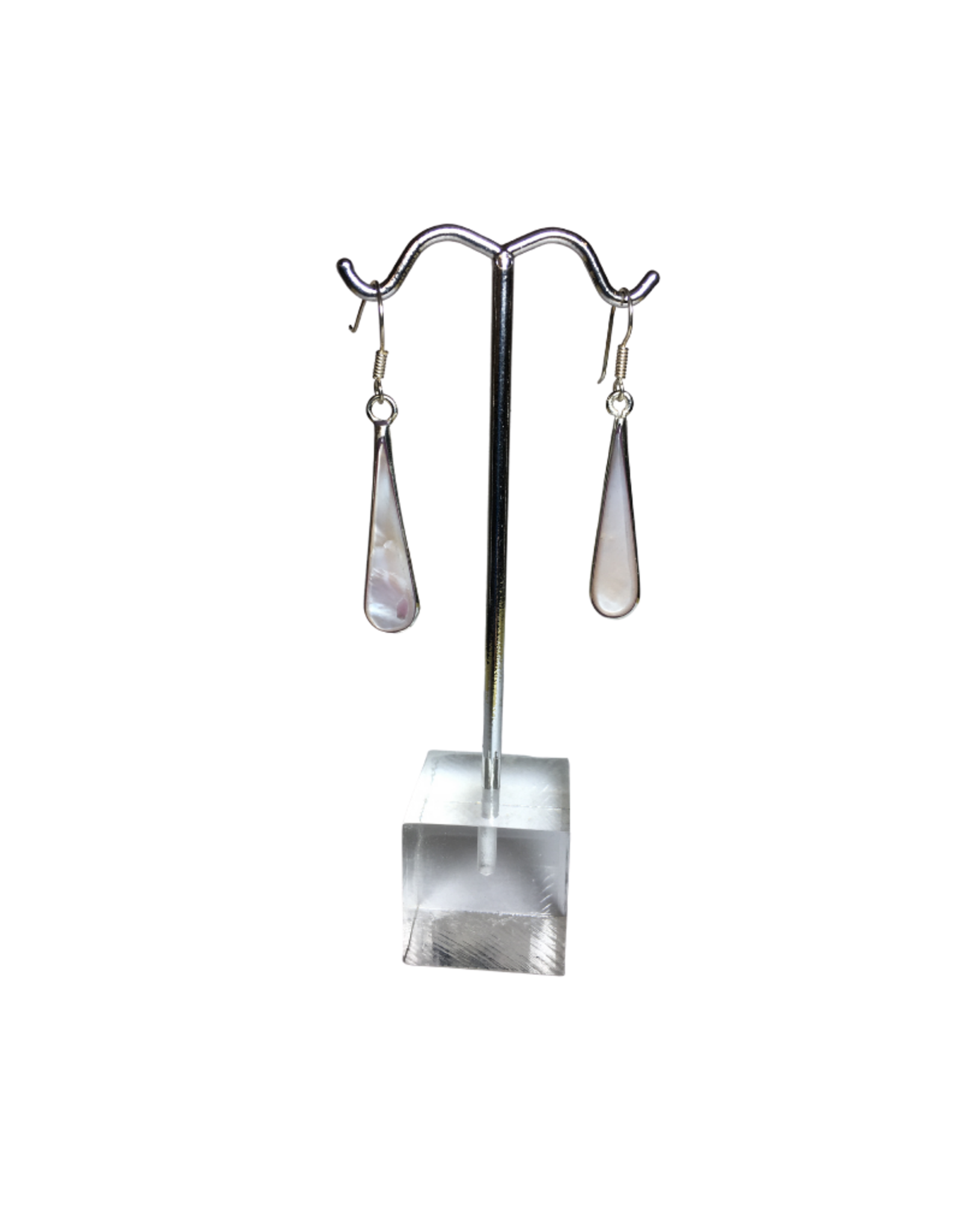 Global Crafts Clam Shell Teardrop Earrings