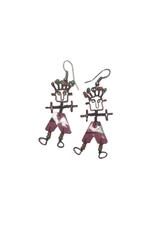 Takataka Dancing Girls & Boys Popcan Earrings (Assorted Colours)