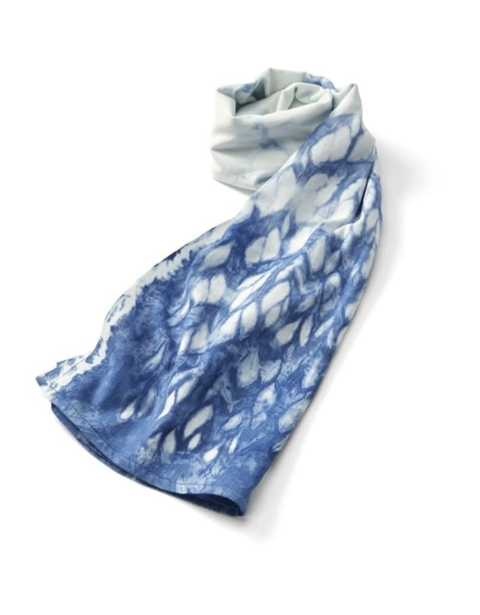 Ten Thousand Villages Inky Tie Dye Scarf