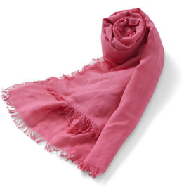 Ten Thousand Villages Coral Shimmer Scarf