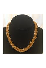 Ten Thousand Villages Gold Sitara Necklace