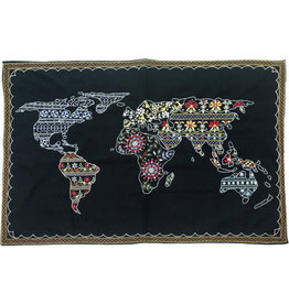 Ten Thousand Villages Wonderful World Wall Hanging
