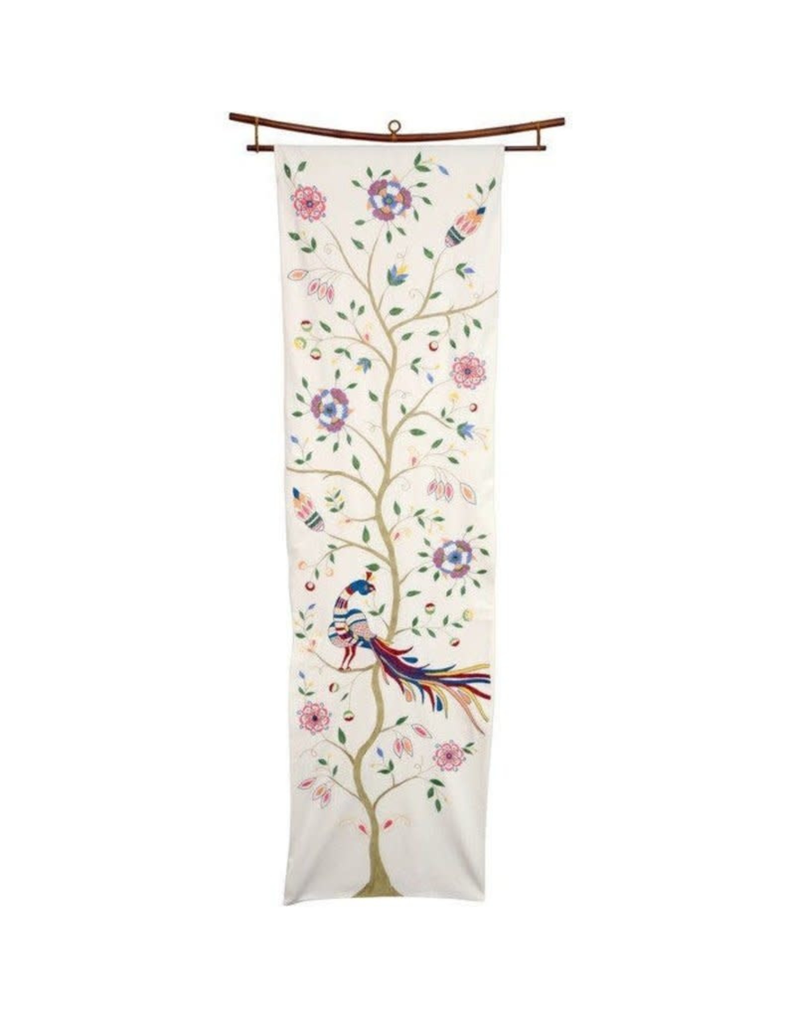 St. Mary's Perching Peacock Wall Hanging