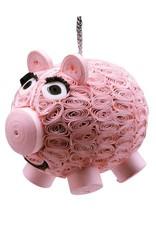 TTV USA Ornament Smiling Pig