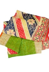 TTV USA Sacred Sari Throw (Assorted Colours)