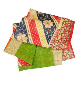 TTV USA Sacred Sari Throw (Assorted Colours)