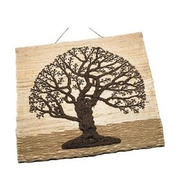 TTV USA Jute Tree of Life Wall Hanging