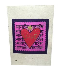 Card Love Greeting Lotka - Nepal
