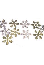 Paper Snowflakes Garland