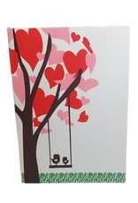 Blooming Hearts Card