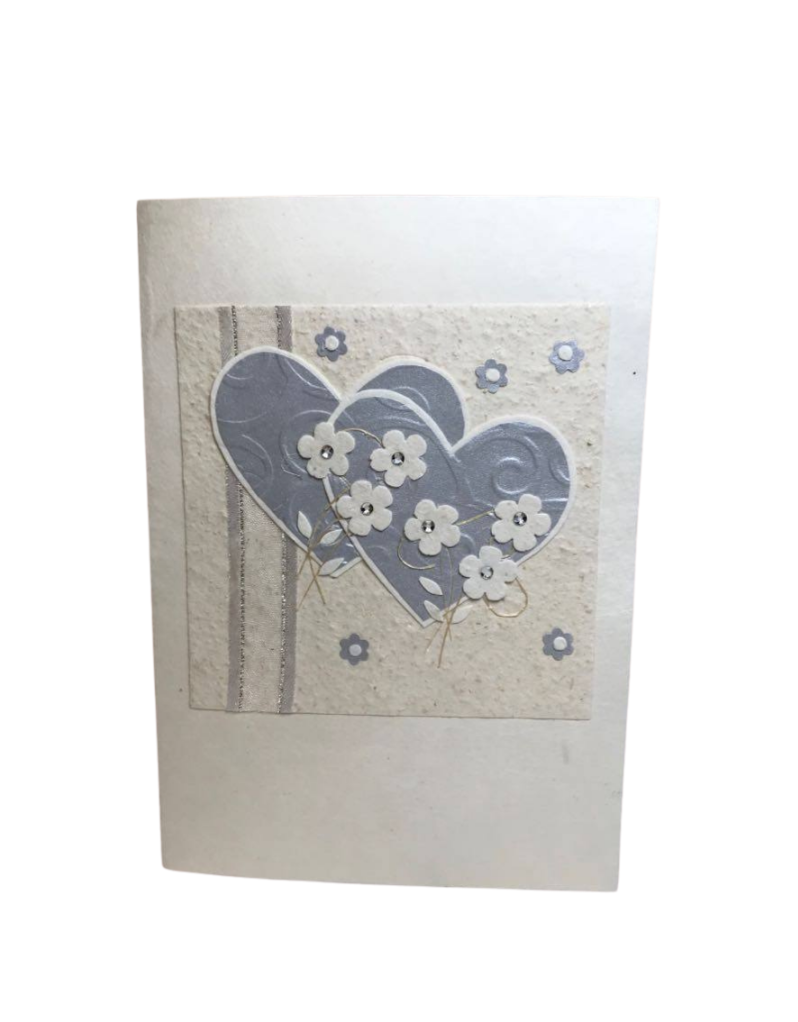 Card Hearts & Flowers