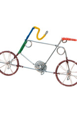 Ten Thousand Villages Wired Bicycle Key Holder