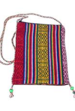 Ten Thousand Villages Striped Gift Bag