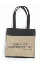Ten Thousand Villages African Proverb Lunch Bag