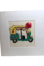 Rickshaw Greeting Card