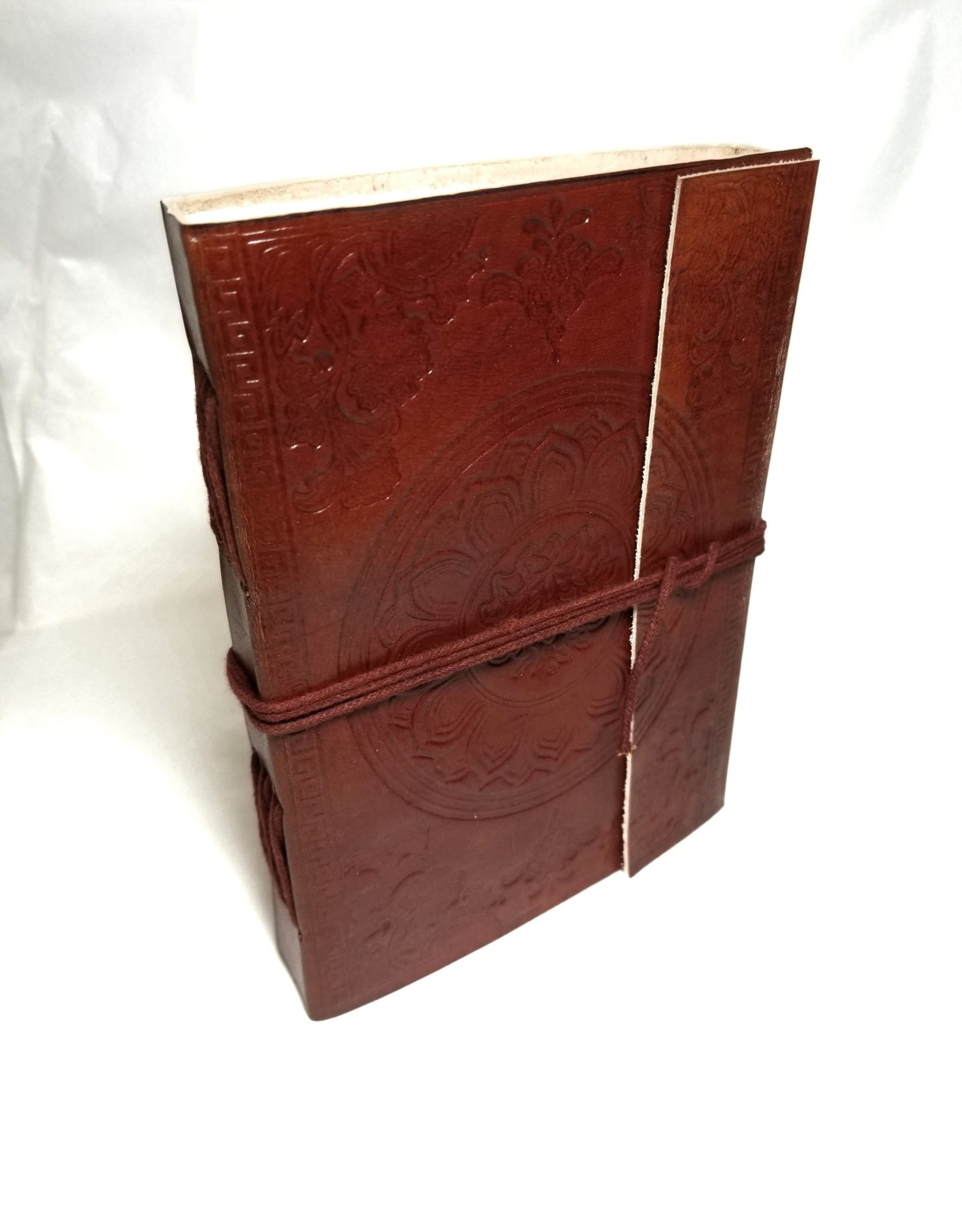 Medallion Embossed Journal with tie