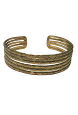 Embossed Gold Cuff