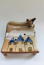 Pottery Soap Holder - House & Donkey