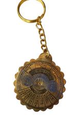 Key Chain w/36 Year Calendar - India