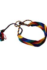 Friendship Bracelet Wide Silk