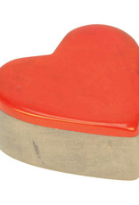 Undugu Society of Kenya Kisii Treasure Heart Box - Red