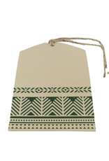 Green Forest Gift Tag