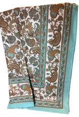 Tablecloth, Turquoise Fusion