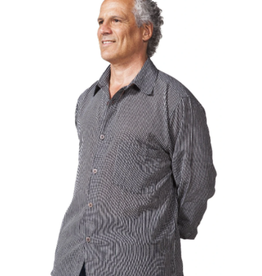 Ark imports Men's Freddy Button Shirt, L