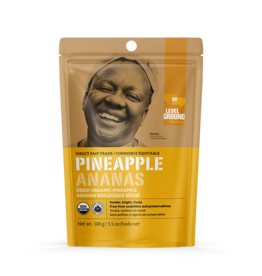 Level Ground Premium Organic Dried Pineapple