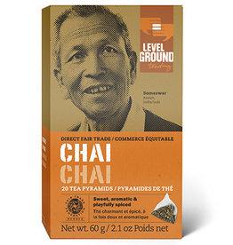 Level Ground Level Ground Chai Tea, bags