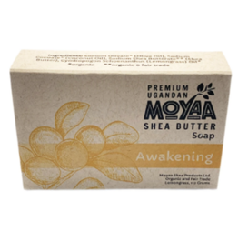 Moyaa Shea Butter Shea Soap Awakening (Lemongrass) - Uganda