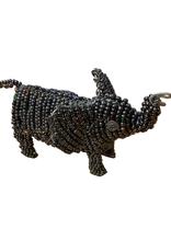 Beaded Elephant Sculpture (small) - Kenya