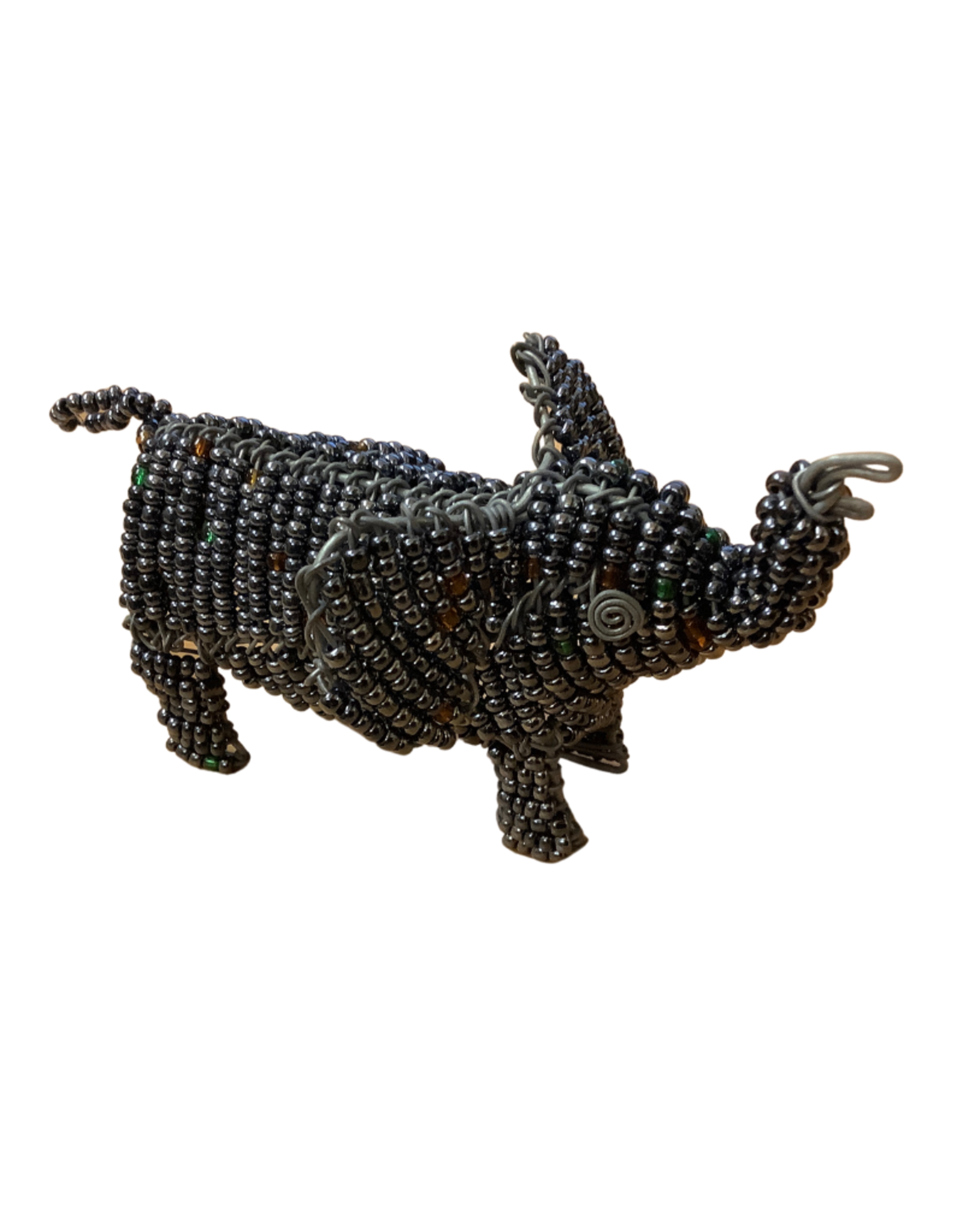 Beaded Elephant Sculpture (small)