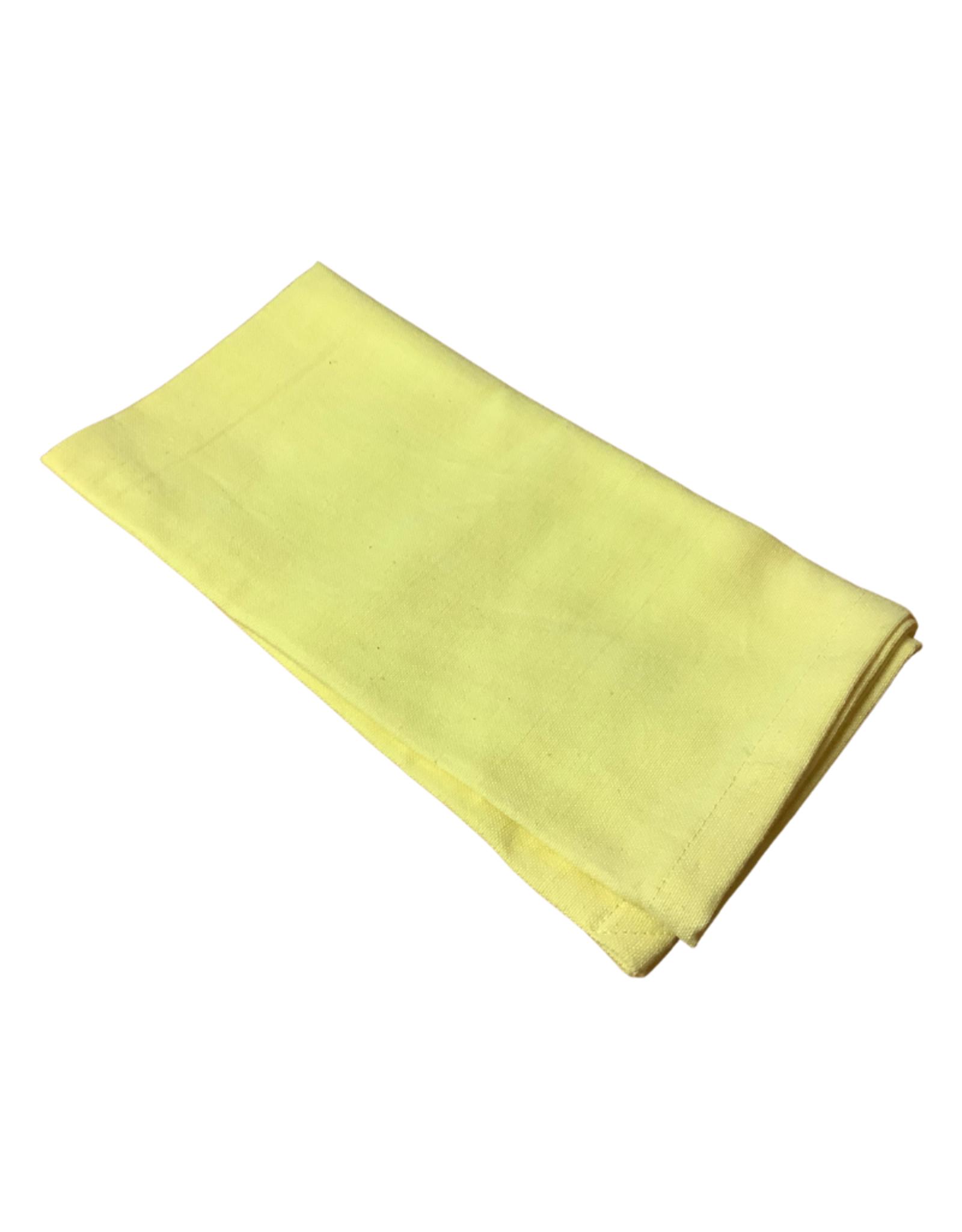 Soft Yellow Cotton Napkin
