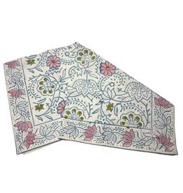 """Pastel Floral Napkin, 50X50cm/20X20"""""""