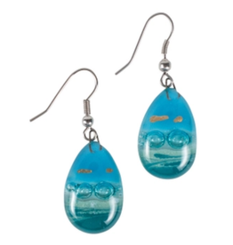 TTV USA Glass Teardrop Earrings