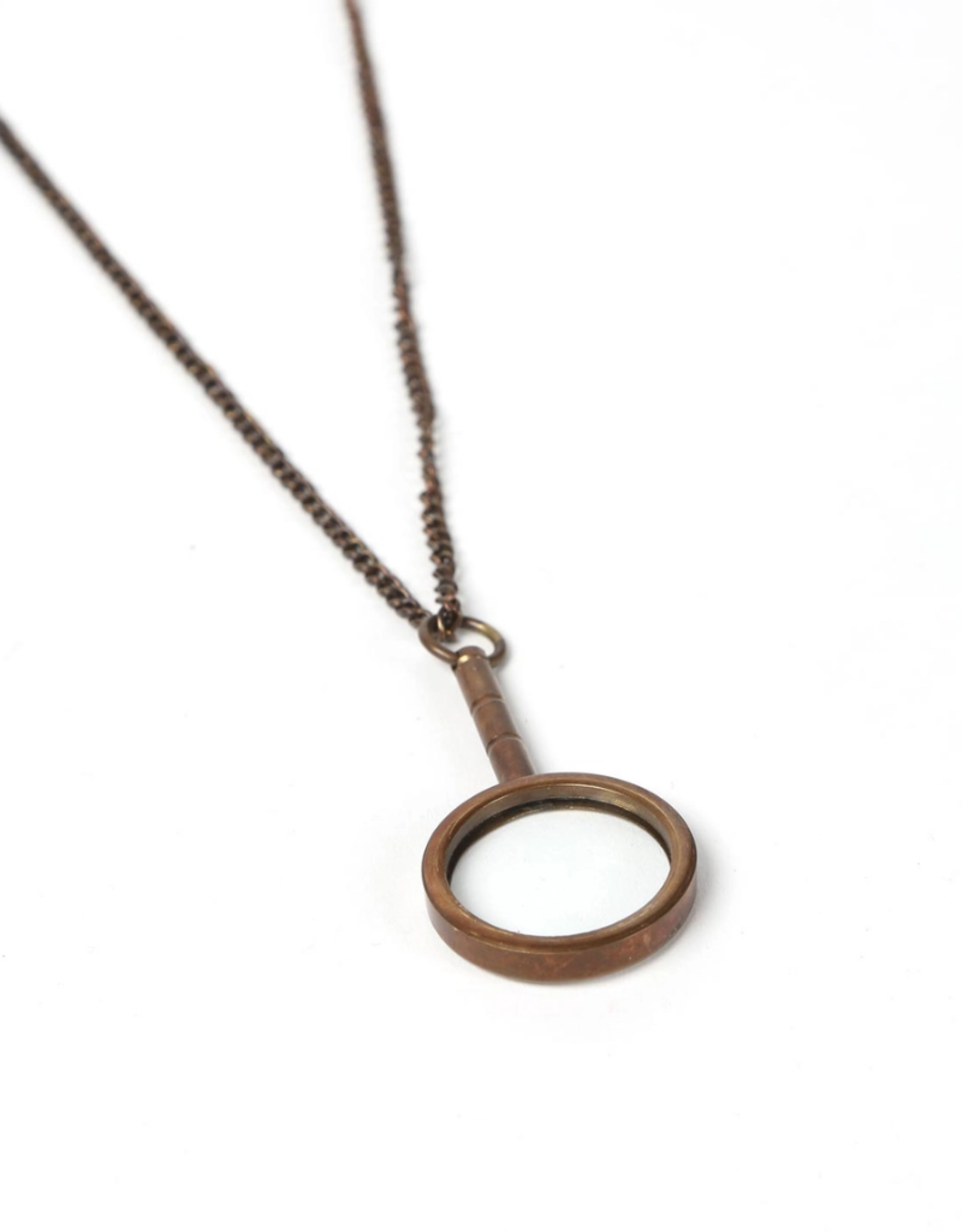 TTV USA Magnifying Glass Necklace